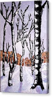 Winterforest Canvas Print