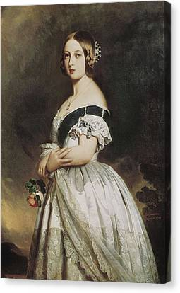 Winterhalter, Franz Xavier 1805-1873 Canvas Print by Everett