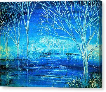 Winterlude Canvas Print by Ann Marie Bone