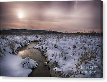 Winter's Blanket... Canvas Print by Dan Hefle