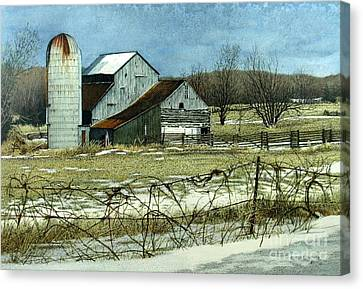 Winters End Prince Edward County Canvas Print