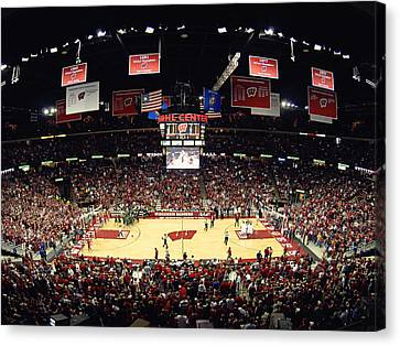Wisconsin Badgers Kohl Center Canvas Print by Replay Photos