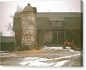 Wisconsin Barn With Silo Canvas Print