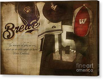Wisconsin Sports Canvas Print