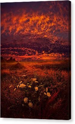 Wisconsin Twilight Canvas Print by Phil Koch