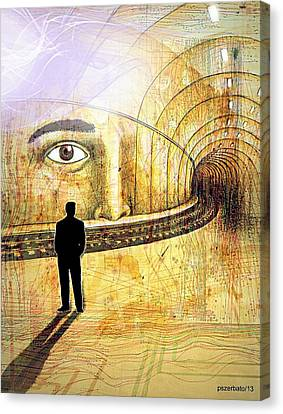 Wisdom Underground - Healing Through Understanding II Canvas Print by Paulo Zerbato