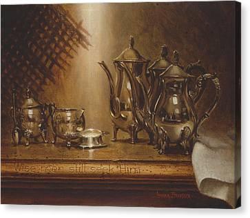 Stable Canvas Print - Wise Men Still Seek Him by Graham Braddock