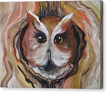 Wise Ole Owl Canvas Print