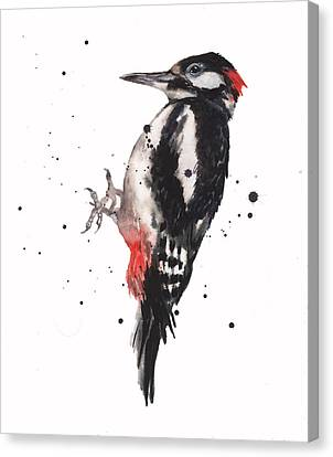 Wise Woody Canvas Print by Alison Fennell