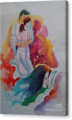 Wish I Could Canvas Print by Chintaman Rudra