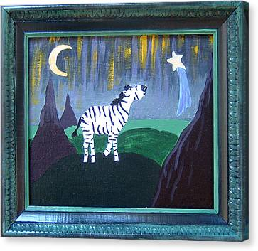 Wish Upon A Star Canvas Print by Yvonne  Kroupa