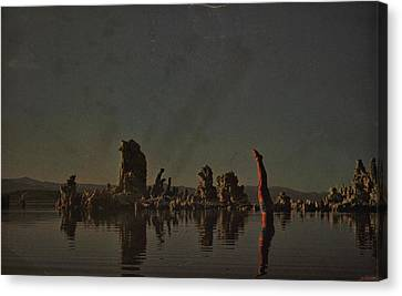 Wish You Were Here Canvas Print by Rob Hans