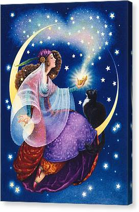 Wishes Canvas Print by Lynn Bywaters