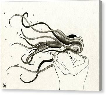 Wishful Thinking Canvas Print by Jamie Seul