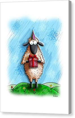 Wishing Ewe  Canvas Print