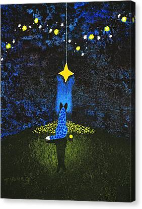 Wishing On A Star Canvas Print