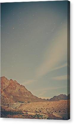 Starry Canvas Print - Wishing On Stars by Laurie Search