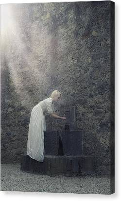 Wishing Well Canvas Print by Joana Kruse