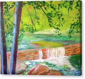Wissahickon Canvas Print by Marita McVeigh