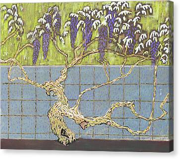Wisteria Canvas Print by Don Perino