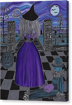 Witch World Canvas Print by Barbara St Jean