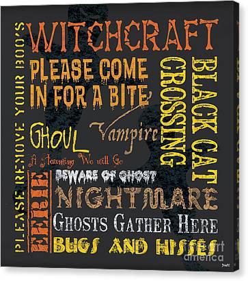Witchcraft Canvas Print by Debbie DeWitt
