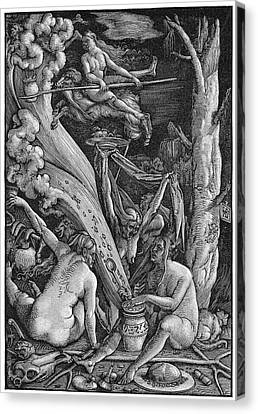 Witches' Sabbath, 1514 Canvas Print