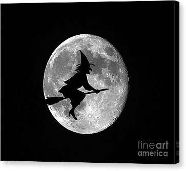 Witchy Moon Canvas Print by Al Powell Photography USA