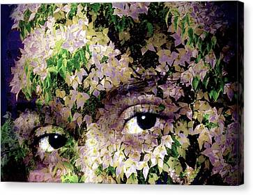 With Dogwood Canvas Print