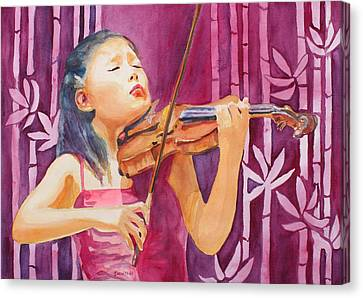 Classical Music Canvas Print - With Feeling by Jenny Armitage