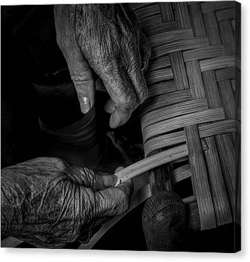 With These Hands Canvas Print