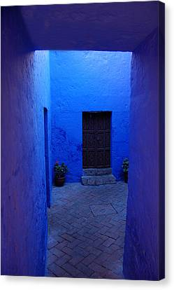 Within Bue Walls Canvas Print by RicardMN Photography