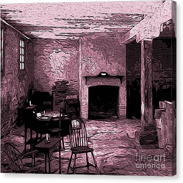 Within The Commissary Canvas Print