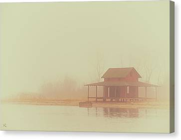 Within The Fog Canvas Print by Karol Livote