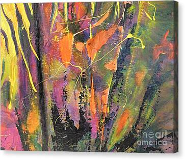Within The Forest Canvas Print by Lyn Olsen