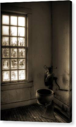 Without Canvas Print by Mark Alder