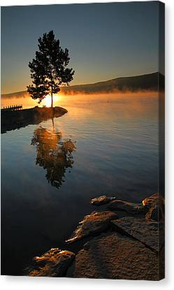 Witness To The Dawn IIi Canvas Print