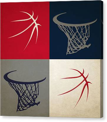Wizards Ball And Hoop Canvas Print by Joe Hamilton