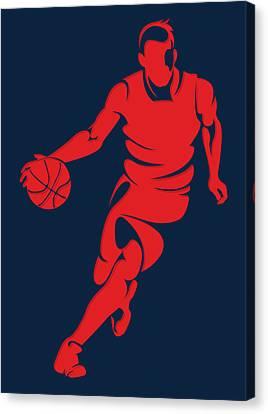 Wizards Basketball Player3 Canvas Print by Joe Hamilton