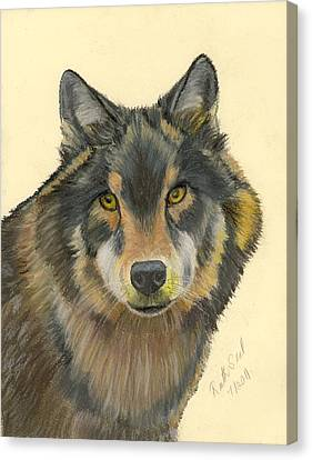 Wolf Canvas Print by Ruth Seal