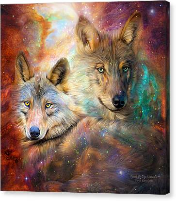 Wolf - Spirit Of The Universe Canvas Print