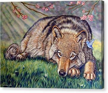 Wolf Whisperer Canvas Print