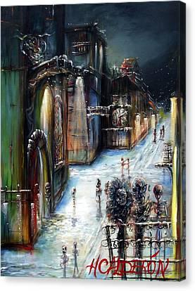 Wolfenstein Canvas Print by Heather Calderon