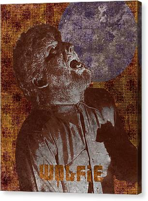 Wolfman Wolfie Canvas Print by MMG Archives