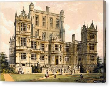 Wollaton Hall, Nottinghamshire, 1600 Canvas Print