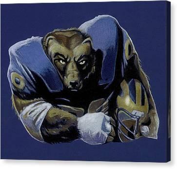 Wolverine Canvas Print by Jason VanderHoff
