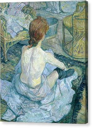 Woman At Her Toilet, 1896  Canvas Print