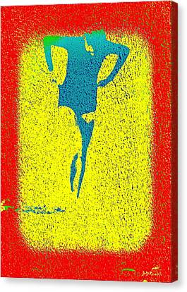 Woman Emerging -- Version I Canvas Print by Brian D Meredith