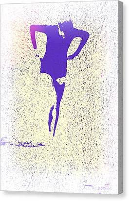 Woman Emerging -- Version K Canvas Print by Brian D Meredith