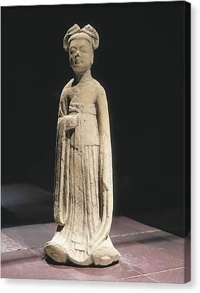 Tsui Canvas Print - Woman Figure. 581 - 618. Servant by Everett